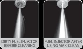 max clean fuel system cleaner stabilizer performance advantages. Black Bedroom Furniture Sets. Home Design Ideas